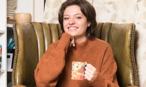 Jack Monroe at home in Southend-on-Sea, Essex.