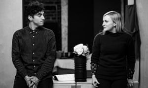 Marc Antolin and Carly Bawden in Romantics Anonymous.