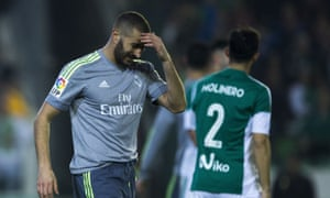 Karim Benzema scored an equaliser to avoid a shock defeat, but Real Madrid were left frustrated by the result.