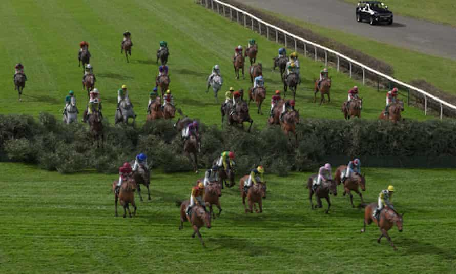 The Virtual Grand National had an average audience of 4.3m viewers on ITV.