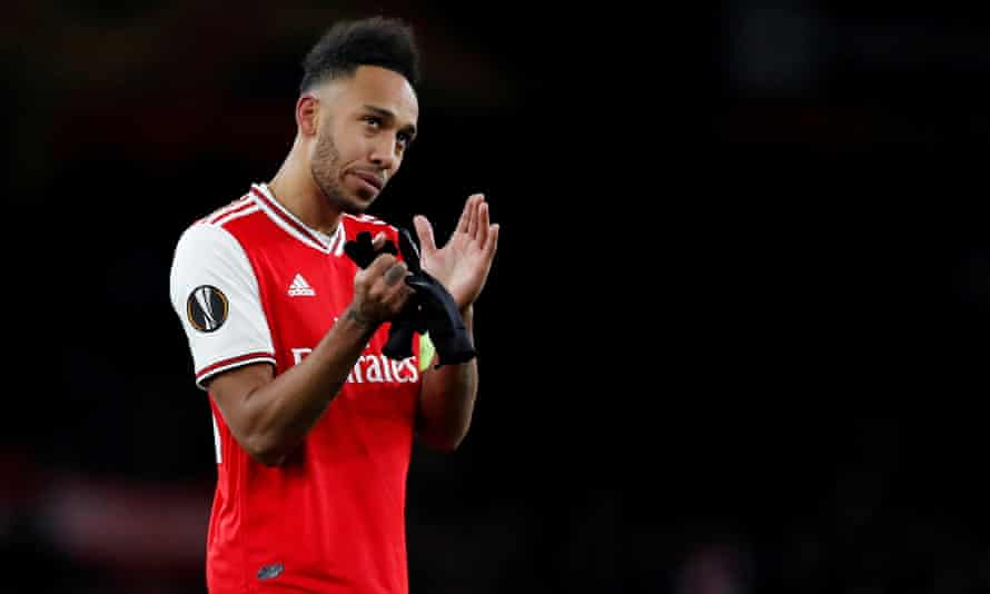 Pierre-Emerick Aubameyang will have only one year left on his contract at the end of this season.