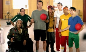 Dodgeball: A True Underdog Story, 2004Rip Torn, Stephen Root, Vince Vaughan, Alan Tudyk, Joel David Moore, Chris Williams and Justin Long in the Ben Stiller comedy,