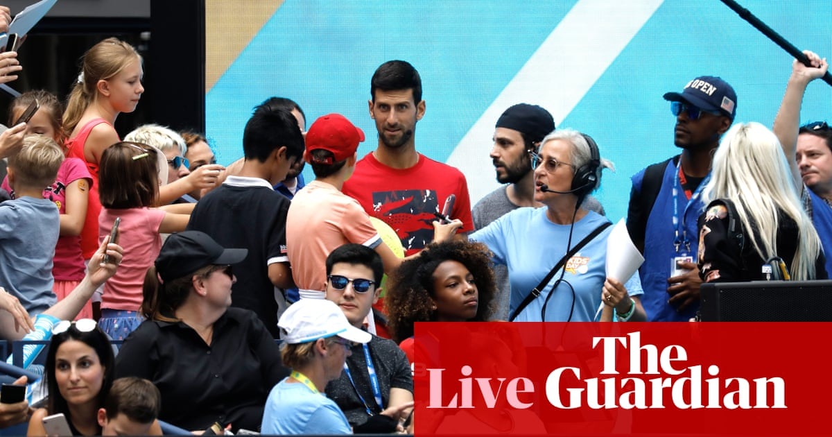 US Open 2019: Djokovic, Konta, Barty and much more on day one – live!