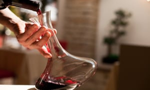 Treat old wines gently: some wines may have thrown a deposit and will need to be decanted like a port.