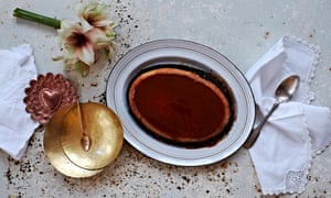 Claire Ptak's dulce de leche and chocolate pudding.