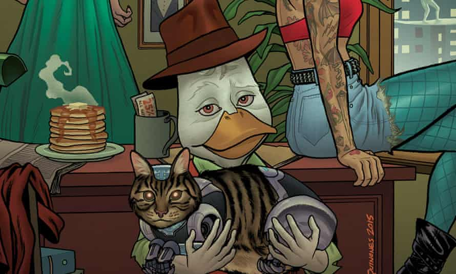 Howard the Duck by Chip Zdarsky and Joe Quinones.