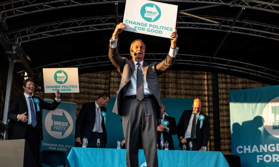 'He's talking our language, so he's got our vote': Farage in Merthyr Tydfil.