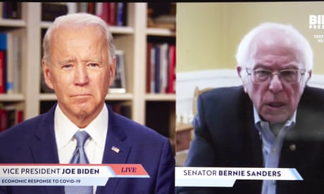 Sanders says his supporters will vote for Biden but he needs to court them