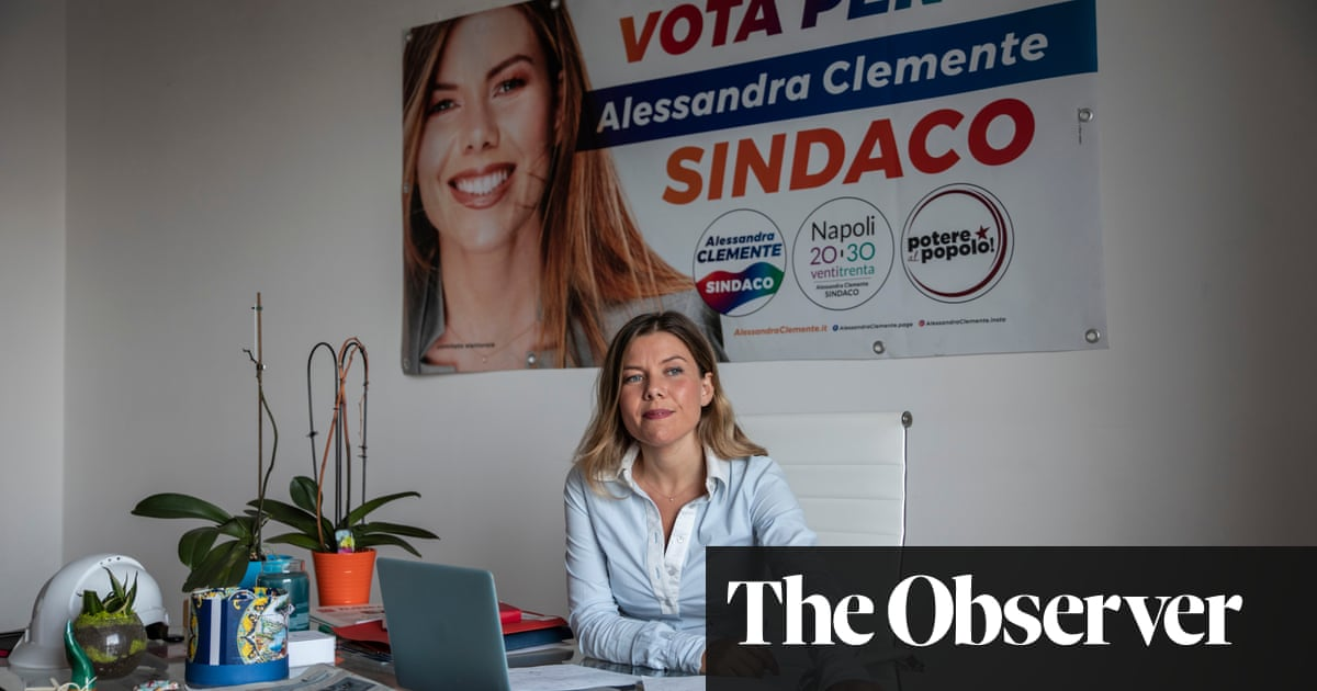 The mafia killed Alessandra Clemente's mother. Now she wants to take them on as mayor of Naples