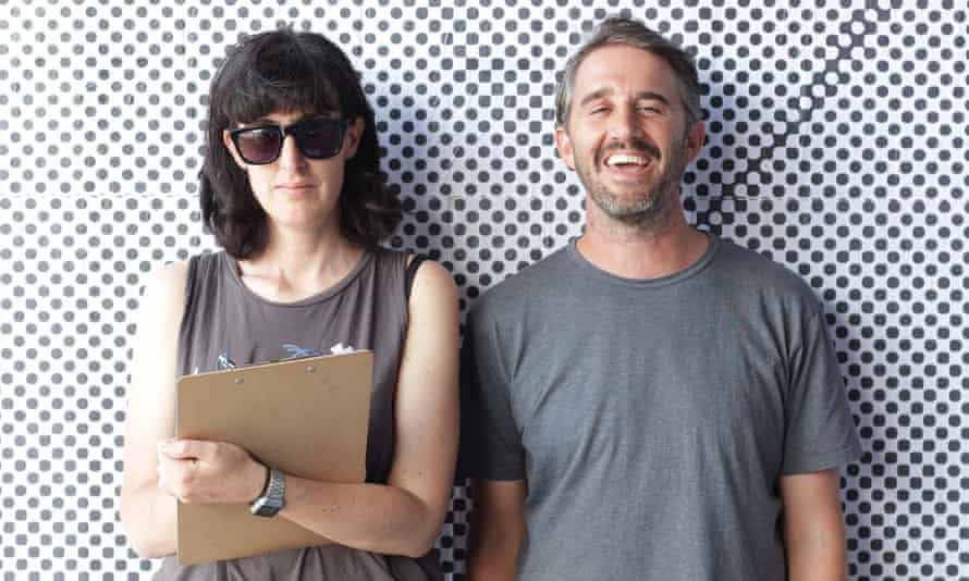 Penny Modra and Max Olijnyk from Melbourne writers studio the Good Copy