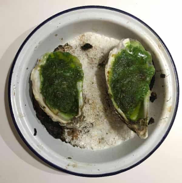 Bon Appetit's oysters Rockefeller.