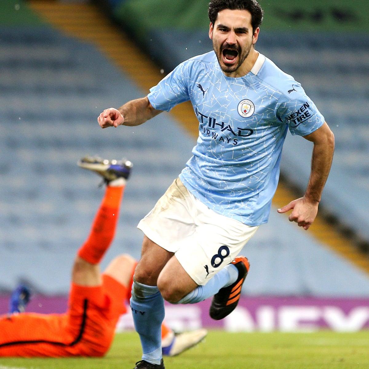 Manchester City 3 0 Tottenham Hotspur Premier League As It Happened Football The Guardian