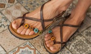 Piuma D'oro sandals