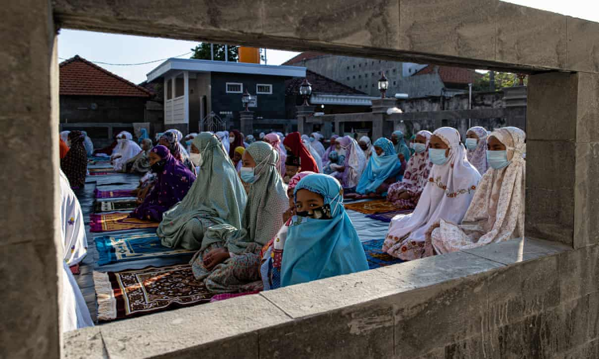 Muslims across Indonesia mark grim Eid al-Adha as Covid crisis deepens