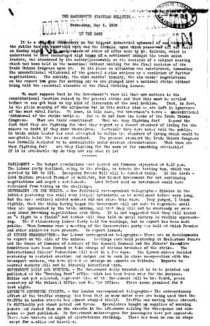 Guardian bulletin 5 May 1926