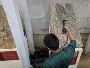 The Kumars are working to document the stones suing photography, mapping and tagging them with QR codes or using high-resolution 3D optical scans.