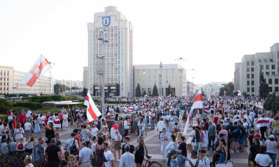 Anti-Lukashenko rally