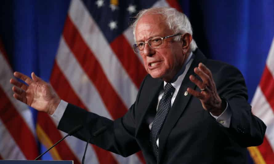 Bernie Sanders told the Washington Post in 2016: 'I think everyone believes in God in their own ways. To me, it means that all of us are connected, all of life is connected, and that we are all tied together.'