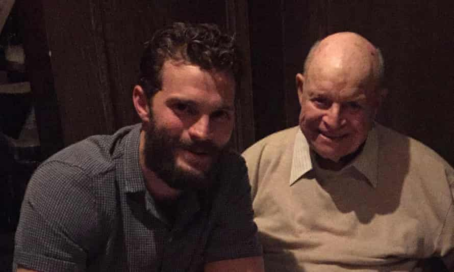 Jamie Dornan and Don Rickles at dinner: 'I actually laughed so hard that I hurt my throat.'