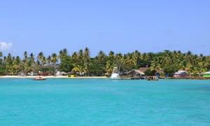 Coastline near Buccoo, Tobago