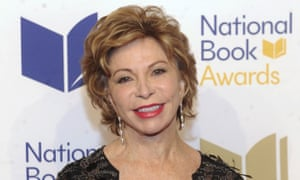Isabel Allende at the New York ceremony