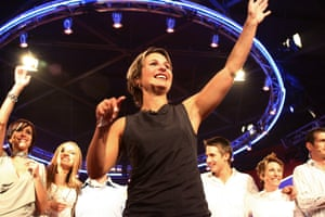 "Regina ""Reggie"" Bird, the winner of Big Brother AU in 2003."
