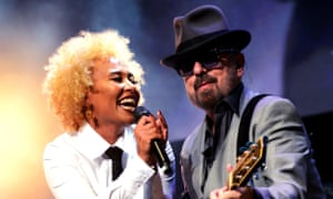 Who's that girl? Dave Stewart with Emeli Sandé.