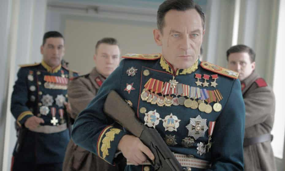 Jason Isaacs in military uniform with medals in the Death of Stalin