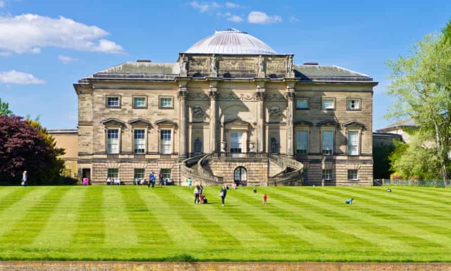 Kedleston Hall in Derbyshire