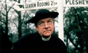 Kenneth More as Father Brown in ITV's 1974 adaptation of GK Chesterton's classic