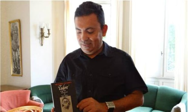 Avijit Roy, the blogger on Mukto-Mona who was killed in a machete attack.