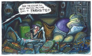 Martin Rowson cartoon 10/02/20