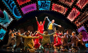 'Ecstatic vision' … the show-stopping numbers in Guys and Dolls are deftly handled.