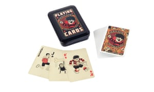 Wild and Wolf playing cards