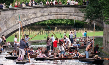 A packed river Cam