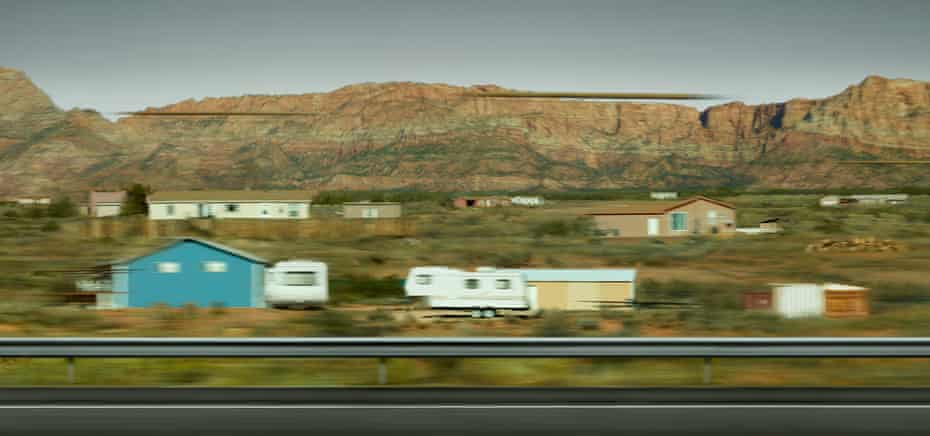 'Modern life in all its random glitches and blurs': Utah by Andreas Gursky, 2017.