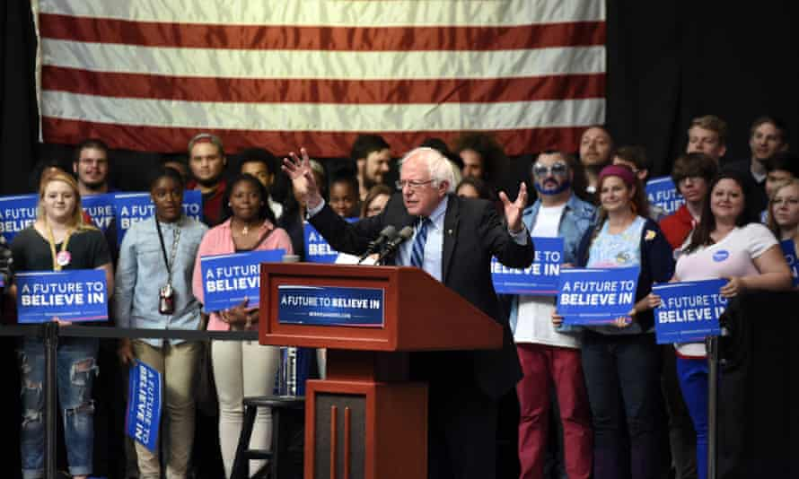 Bernie Sanders Indiana primary