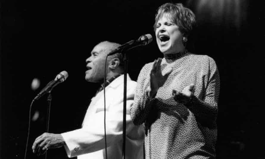 Jon Hendricks and Annie Ross reunited at the North Sea jazz festival in The Hague, 1999.