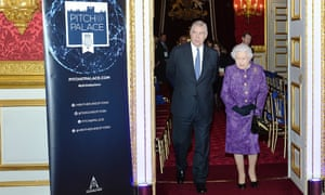 Prince Andrew and his mother attend a Pitch@Palace event at St James's Palace in London.