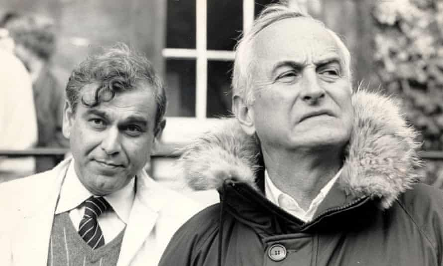 'It wasn't the sort of thing Ismail was going to broadcast' … James Ivory, right, with Ismail Merchant.