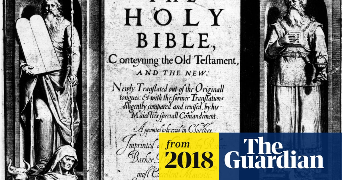 King James Bible's classic English text revealed to include