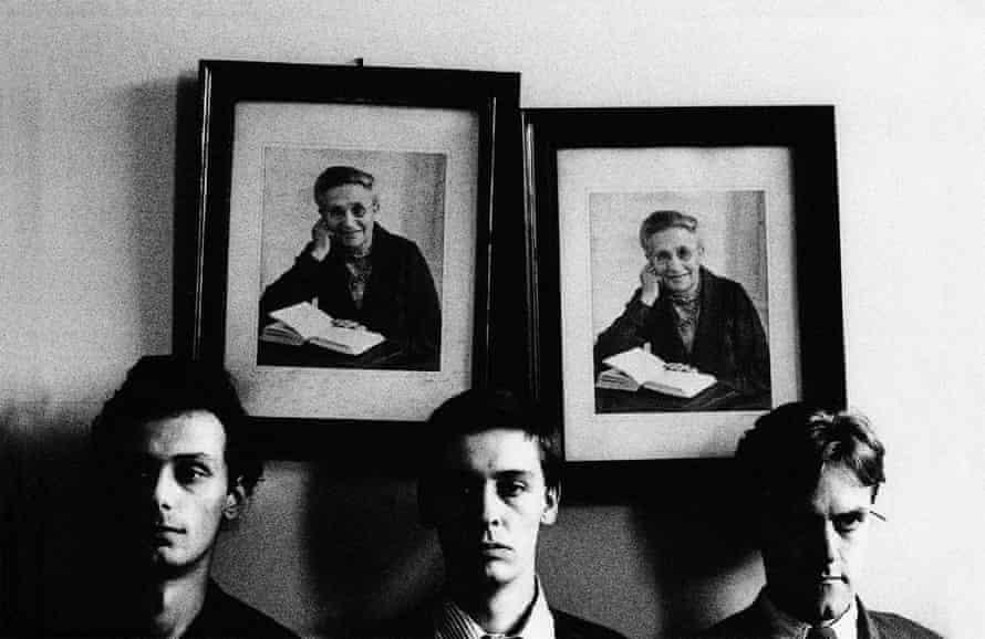 From left, Charles Bullen, Gareth Williams, Charles Hayward of This Heat circa 1981.