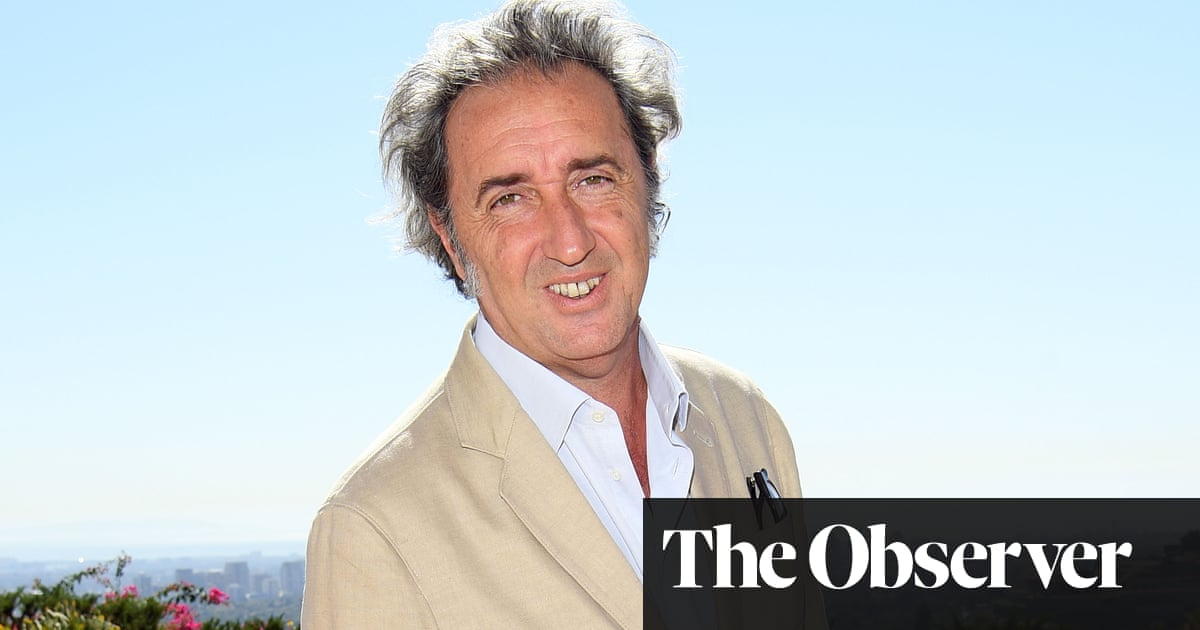 Paolo Sorrentino: 'My characters' struggles are the struggles I have'