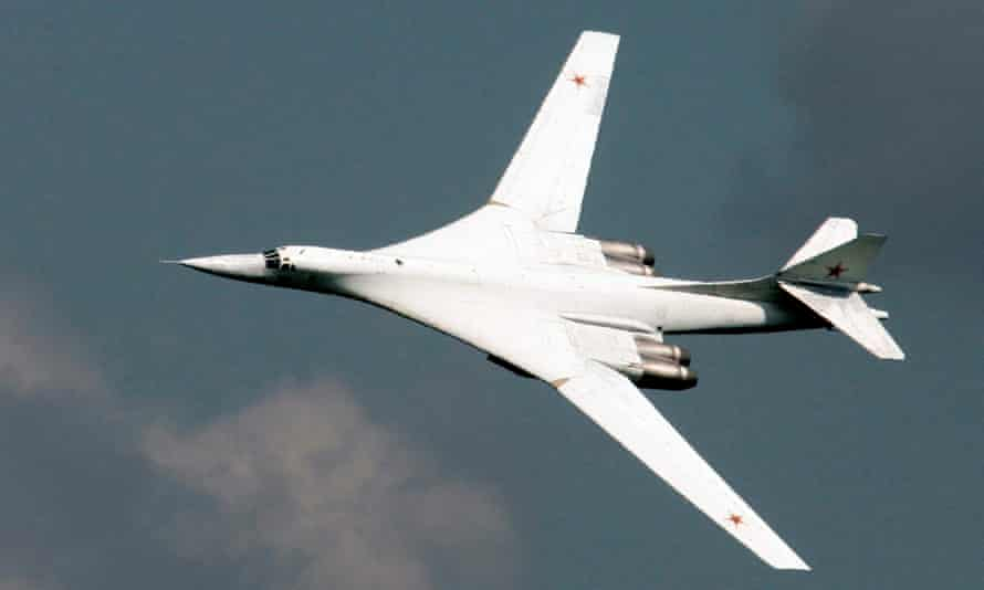 Russian Tupolev TU-160 bomber