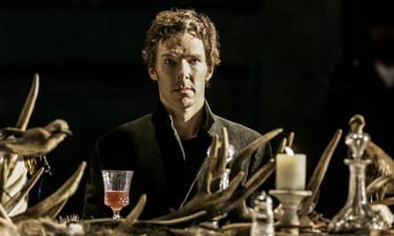 Benedict Cumberbatch in Hamlet at the Barbican