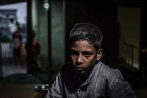Tuhin at the shelter