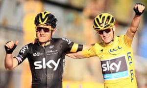 5bfd310a7 Chris Froome seals second Tour de France triumph – as it happened ...