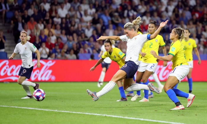 France 2-1 Brazil: Women's World Cup 2019, extra time – as