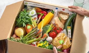A constant reminder of your own virtue ... a Hello Fresh food box.