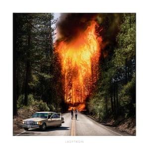 Ladytron: Ladytron album art work